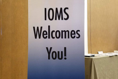 IOMS-Sign-Welcoming-Attendees-to-the-Winter-CME